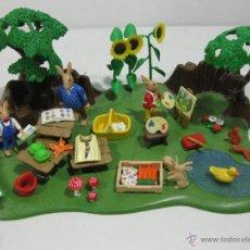 Playmobil: PLAYMOBIL TALLER DE PINTURA CONEJOS PASCUA RABBIT CONEJO REF 4450 -. Lote 42877544