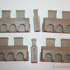 Playmobil: PLAYMOBIL MEDIEVAL PIEZAS DEL CASTILLO ALMENAS . Lote 113029515