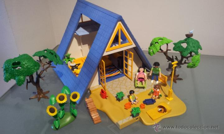 Playmobil ref 3230 espectacular casa de campo v comprar playmobil en todocoleccion 43149300 - Playmobil 3230 casa de vacaciones ...