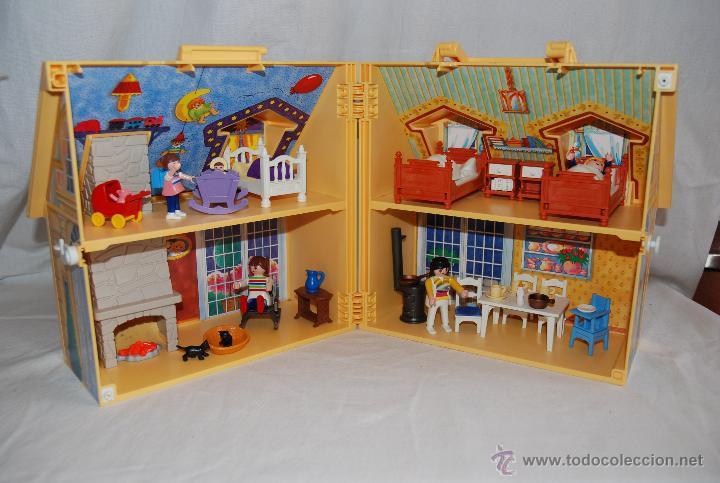Casa malet n de playmobil comprar playmobil en for Casa maletin playmobil