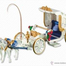 Playmobil: PLAYMOBIL CALESA CABALLOS CARROZA REAL CASTILLO CASA VICTORIANA 5300 NOVIOS NUEVO SIN ABRIR. Lote 43407897