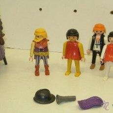 Playmobil: LOTE FIGURAS PLAYMOBIL + ACCESORIOS CABALLEROS,PIRATAS INDIOS. Lote 43408547