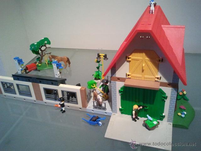 Playmobil casa de campo granja establo caballo comprar for La granja de playmobil precio