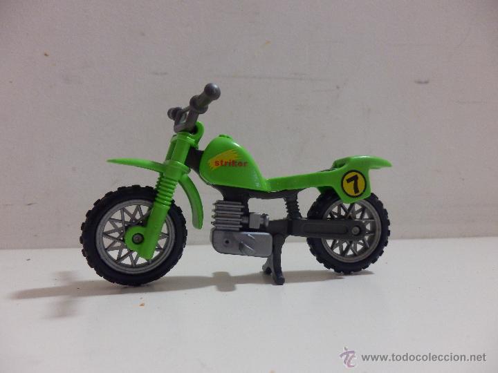 Playmobil moto cross motorista motocross comprar playmobil en todocoleccion 43747222 - Moto cross playmobil ...