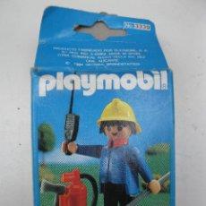 Playmobil: PLAYMOBIL BOMBERO - REF. 3339 - NUEVO - EN SU CAJA ORIGINAL.. Lote 43863164