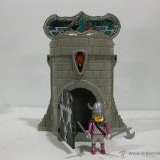 Playmobil: PLAYMOBIL FORTALEZA VIKINGA VIKINGOS BARBAROS TORRE. Lote 44094516