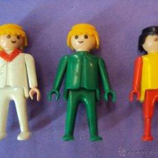 Playmobil: SELECCIÓN DE 3 FAMOBIL GEOBRA DE 1974. Lote 44176365