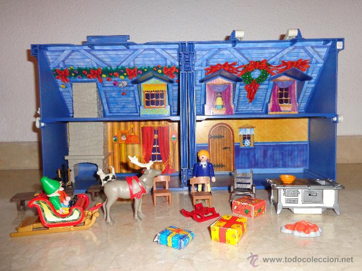 Casa navidad playmobil a o 2005 x comprar playmobil en for Casa playmobil precio