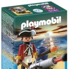 Playmobil: PLAYMOBIL 5141 SOLDADO INGLES CON CAÑON (ARTICULO NUEVO) LDCAJ. Lote 45727151