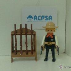 Playmobil: PLAYMOBIL 3381 SHERIFF CON ARMERO. Lote 46208508