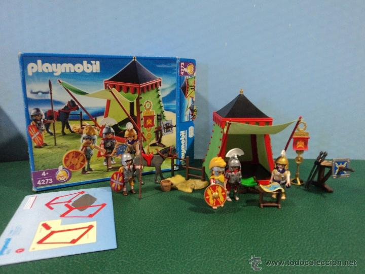 Playmobil ref 4273 campamento romano romanos be comprar for Playmobil segunda mano