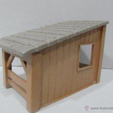 Playmobil: PLAYMOBIL CABAÑA ESTABLO ANIMALES BOSQUE MEDIEVAL CASA BELEN CASTILLO MEDIEVALES PIEZAS. Lote 186359431