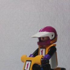 Playmobil: PLAYMOBIL PILOTO MOTOCROSS COMPETICION FAMOBIL (ZCETA). Lote 47051543