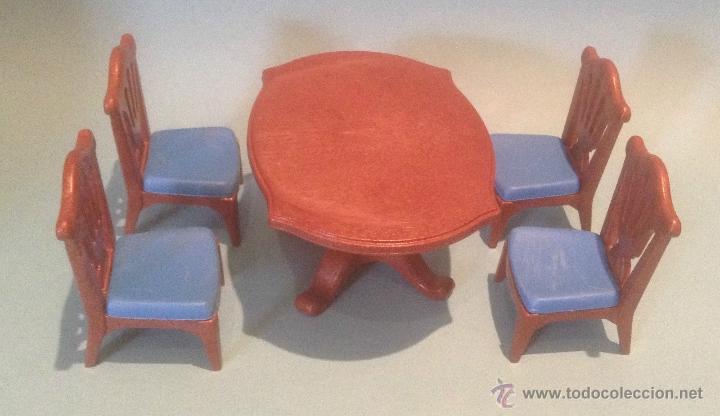 playmobil lote sillas mesa salon comedor 3965 5 - Comprar Playmobil ...