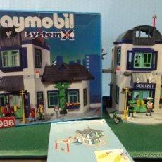 Playmobil: PLAYMOBIL-REF-3988-COMISIRIA DE POLICIA,COMPLETO CON CAJA E INSTRUCCIONES,AMUEBLADO +FIGURAS. Lote 47163797