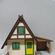 Playmobil: PLAYMOBIL CABAÑA GRANDE BOSQUE 4207 MEDIEVAL BELEN ANIMALES VARIOS PIEZAS. Lote 47197343