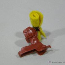 Playmobil: PLAYMOBIL SILLA MONTAR CON MANTA CABALLO OESTE WESTERN VARIOS PIEZAS. Lote 176914494