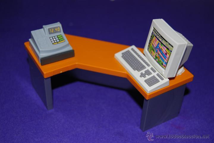 playmobil. mesa oficina ordenador caja registra - Comprar Playmobil ...