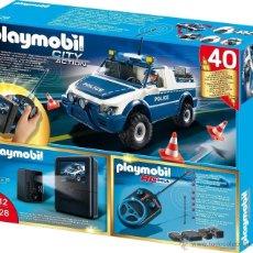 Playmobil: PLAYMOBIL-REF-5528-COCHE DE POLICIA-RC CON CAMARA-SERIE LIMITADA-NUEVO,PRECINTADO. Lote 47260877