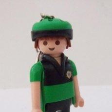 Playmobil: PLAYMOBIL LLAVERO DE POLICIA CICLISTA. Lote 47352750