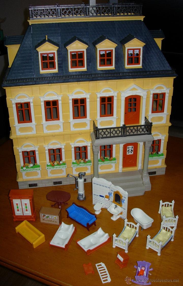 Playmobil mansion casa victoriana con accesorio comprar for Mansion de playmobil