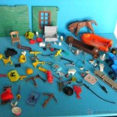 Playmobil: LOTE DESPIECE DE PLAYMOBIL Y FAMOBIL. Lote 47699261