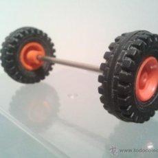 Playmobil - PLAYMOBIL RUEDAS EJE VEHICULO COCHE 4X4 TODOTERRENO RECAMBIO AG2 . - 47904050