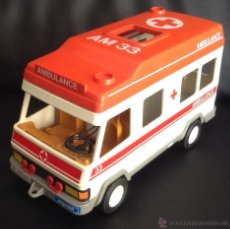 Playmobil: AMBULANCIA PLAYMOBIL DE 1985 GEOBRA AMBULANCE AM 33 AÑOS 80. Lote 48097337
