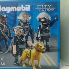 Playmobil: PLAYMOBIL 5565 POLICIA EQUIPO ESPECIAL. Lote 109527992