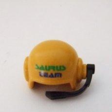 Playmobil: PLAYMOBIL CASCO AMARILLO DE PILOTO CON MICRO. Lote 75148061
