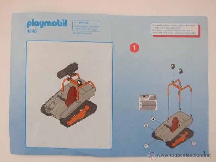 PLAYMOBIL MANUAL ORIGINAL REF 4846 (Juguetes - Playmobil)