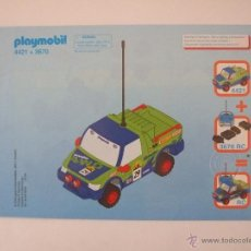Playmobil - Playmobil Manual original REF 4421 y 3670 - 48328308