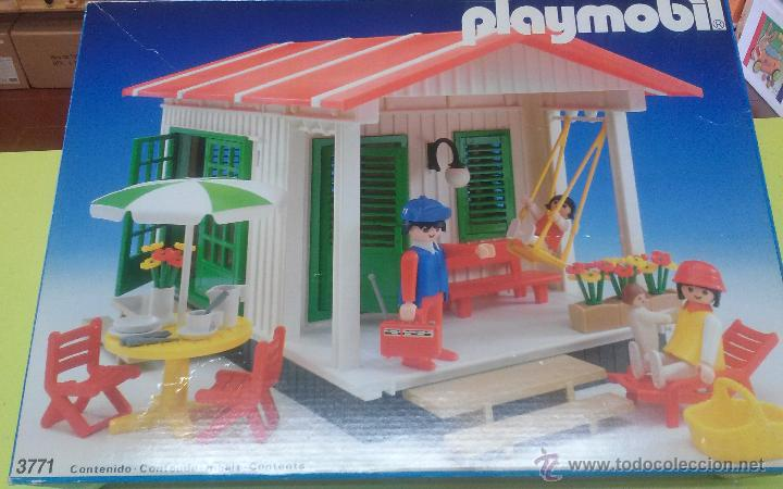 Playmobil tapa de la casa de campo antigua re comprar for Casa playmobil precio
