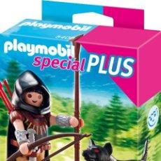 Playmobil: PLAYMOBIL SPECIAL PLUS 5408 MONTARAZ CON LOBO NUEVO. Lote 48698284