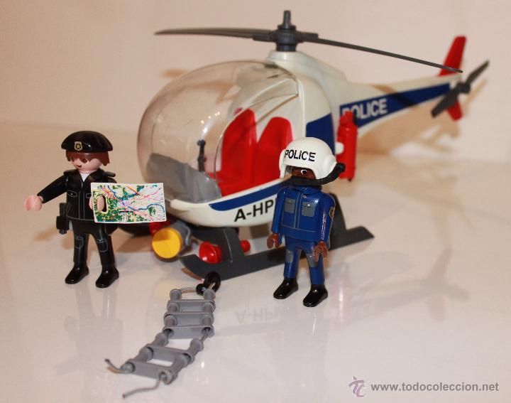 Helicoptero policia playmobil 3908 comprar playmobil en for Helicoptero playmobil