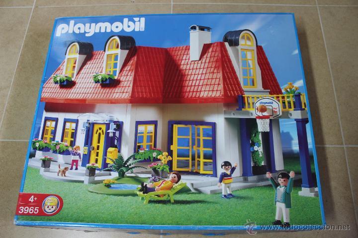 Playmobil 3965 casa moderna ciudad city comprar for Casa moderna playmobil