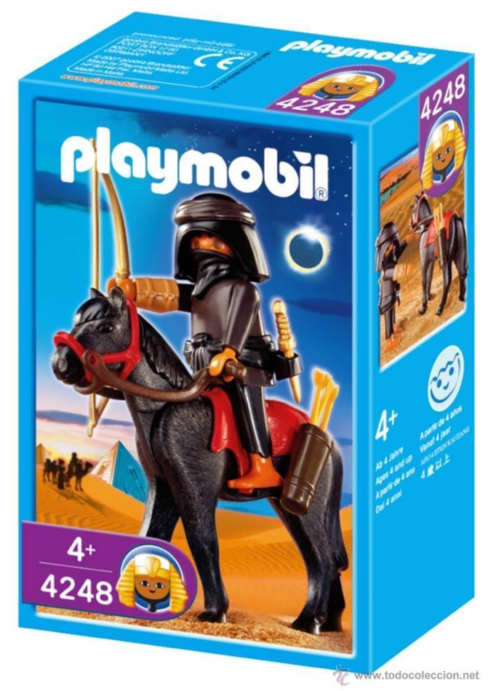 PLAYMOBIL 4248 LADRON EGIPCIO A CABALLO DESCATALOGADO LDCAJ (Juguetes - Playmobil)