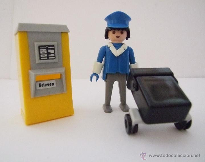 Playmobil cartero vintage con buz n y carro de comprar playmobil en todocoleccion 56538559 - Buzon vintage ...