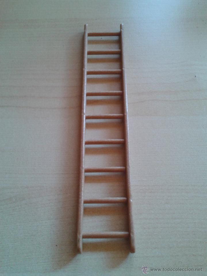 Escalera de mano de 39 39 madera 39 39 playmobil a os comprar - Escaleras de madera de segunda mano ...