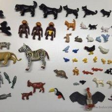 Playmobil: LOTE DE FIGURAS ANIMALES PLAYMOBIL. Lote 49185085