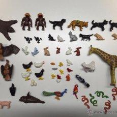 Playmobil: LOTE DE FIGURAS ANIMALES PLAYMOBIL. Lote 49185108