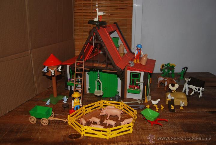 granja playmobil 3716 completa inmejorable pr comprar