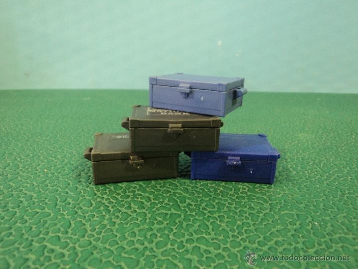 -PLAYMOBIL-OESTE-MEDIEVAL-LOTE DE 4 CAJAS-CAJA-FIGURAS (Juguetes - Playmobil)