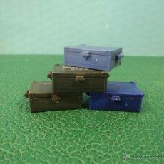 Playmobil: -PLAYMOBIL-OESTE-MEDIEVAL-LOTE DE 4 CAJAS-CAJA-FIGURAS. Lote 49599185