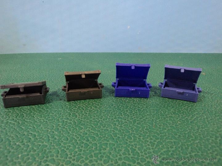 Playmobil: -PLAYMOBIL-OESTE-MEDIEVAL-LOTE DE 4 CAJAS-CAJA-FIGURAS - Foto 2 - 49599185