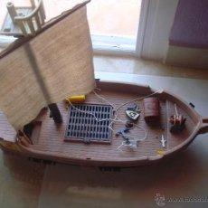 Playmobil: BARCO PIRATA DE PLAYMOBIL FAMOBIL EL PRIMERO QUE HUBO. Lote 49659085
