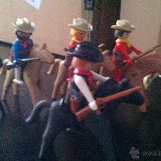 Playmobil: LOTE DE CLICK VAQUEROS A CABALLO. FAMOBIL PISTOLEROS GEOBRA. SERIE OESTE PLAYMOBIL 1974 GEOBRA. Lote 50515671