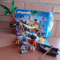 Playmobil: PLAYMOBIL 4139 ISLA PIRATA TESORO . Lote 50578699