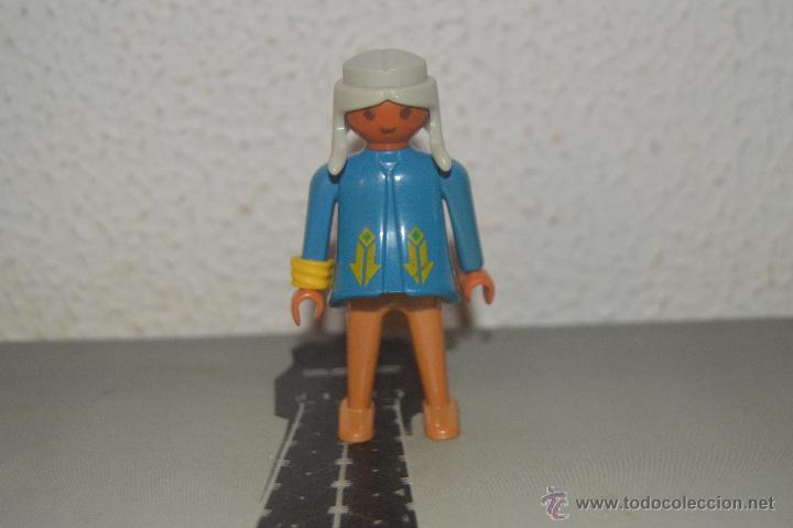 MUÑECO FIGURA JEFE INDIO PLAYMOBIL (Juguetes - Playmobil)