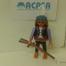 Playmobil: PLAYMOBIL INDIO CON RIFLE. Lote 51027690